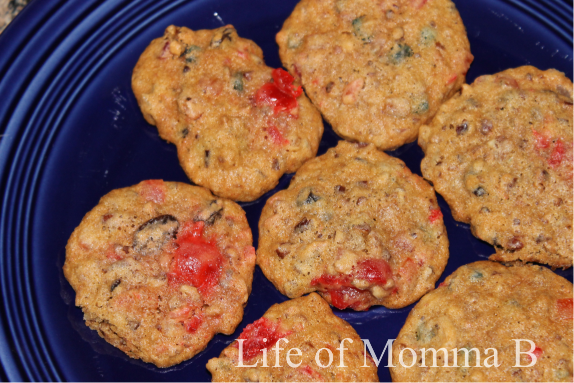 Fruitcake Cookies With Fruit Cake Mix