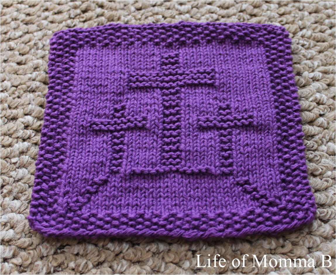 Knitted Dishcloth Patterns For Easter : dishcloths