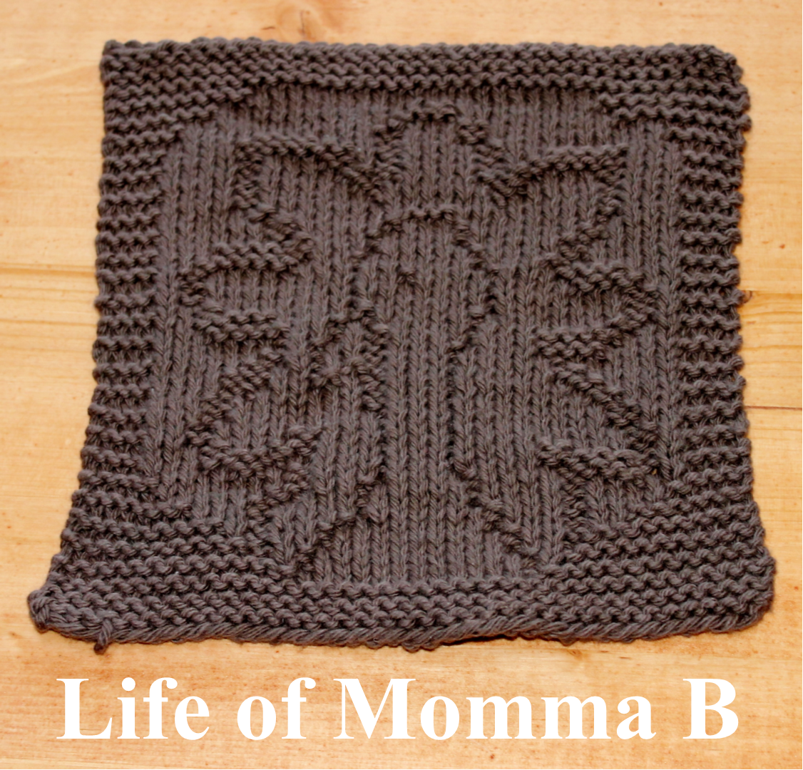 Free Knitting Pattern Turkey Dishcloth : November Dishcloth