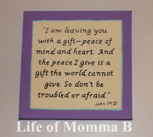 John 14 canvas | Life of Momma B
