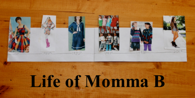 fashion timeline for My Style Merit Badge | Life of Momma B