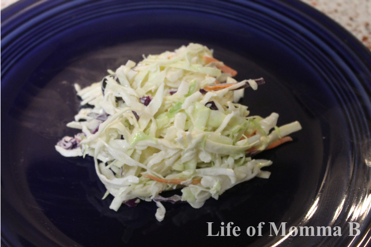 how to cut cabbage for slaw