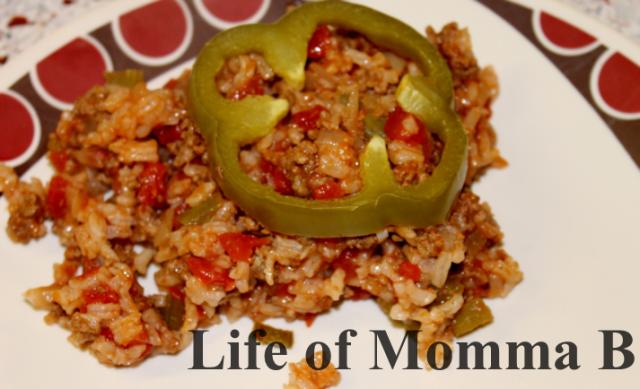 Bell pepper Casserole