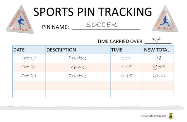 Sports Pin