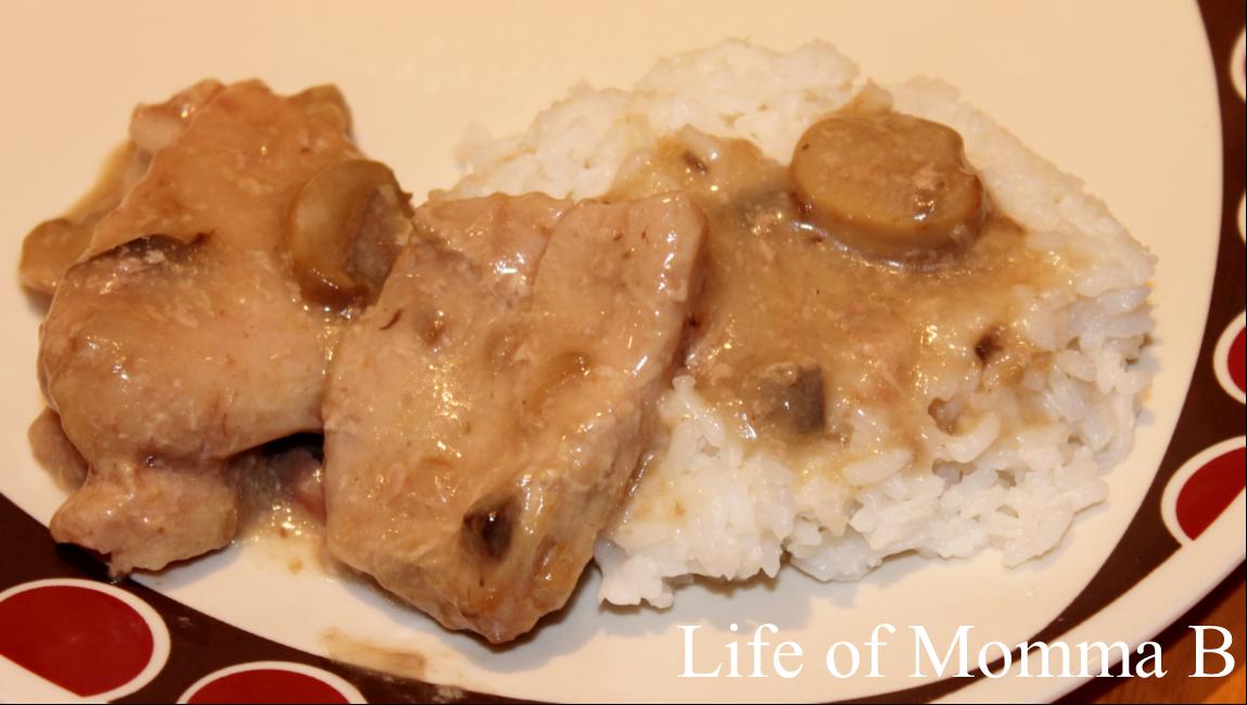 Cream of Mushroom Pork Chops |