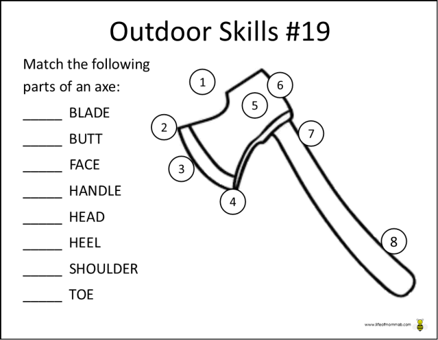 Outdoor Skills 19
