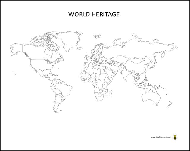 World Heritage #1, #6 & #14