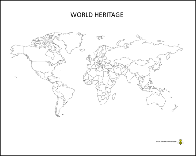 World Heritage #1, #6 & #14