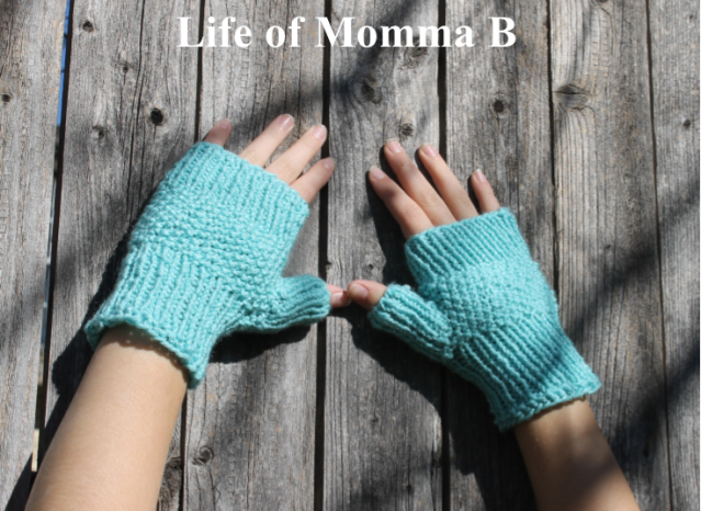 ligonberry mitts