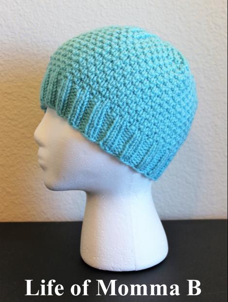 modern knit beanie